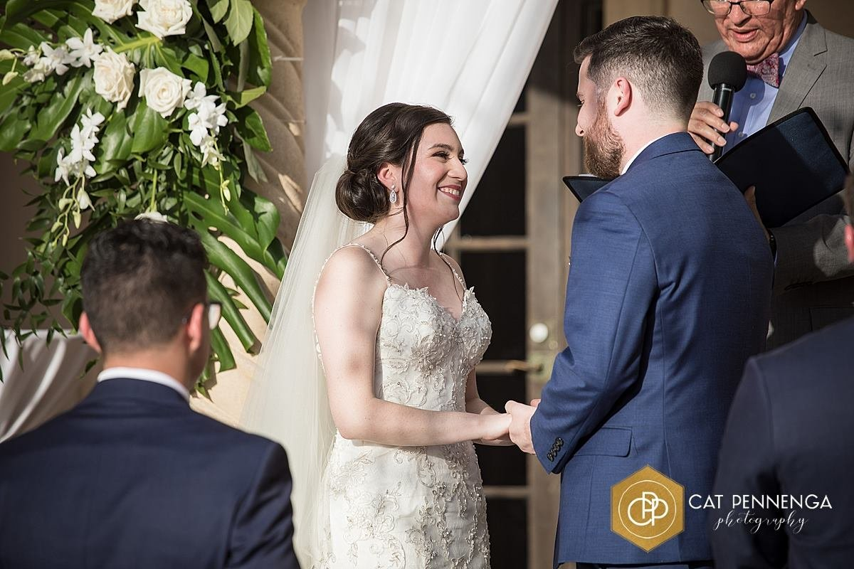 Couple during Ceremony