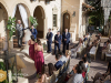 Ceremony at Powel Crosley Estate on Loggia