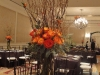 Elevated fall centerpieces, Ritz Carlton
