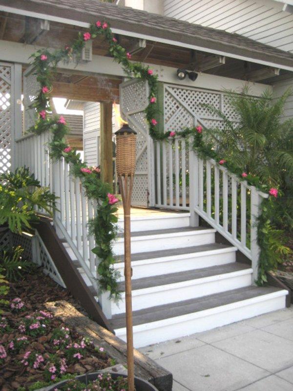 Wedding garland for entrance