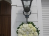 Hydrangea wedding wreath
