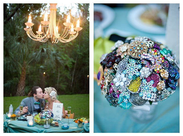 bouquet-and-sweetheart-table
