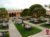 Wedding reception at Ringling Museum Courtyard