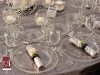 Table setting for wedding at Ringling