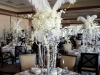 Gatsby Party Silver and Crystals Candelabra
