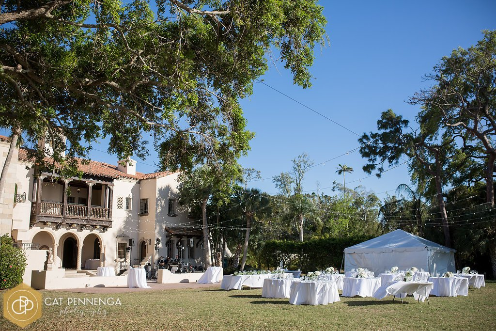 Reception on Lawn at Powel Crosley