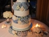 cake-with-blue-hydrangea