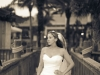 Bride on Lido Beach