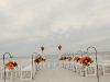 Beach wedding Hilton Longboat key