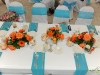 Wedding Centerpieces by Flowers by Fudgie