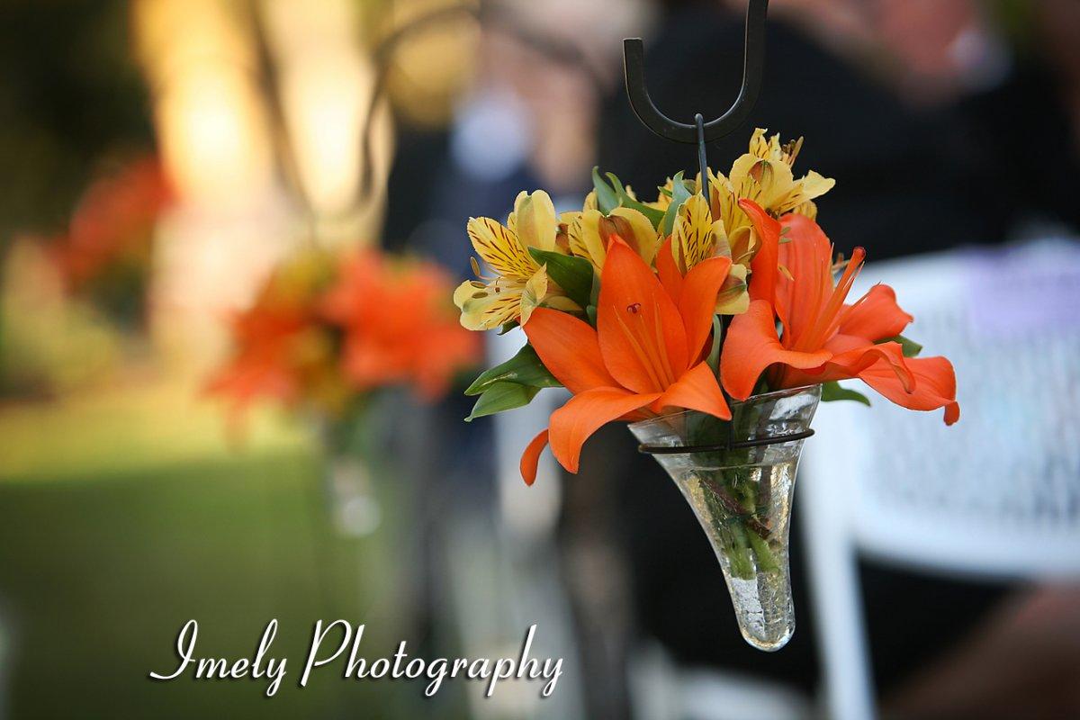 Selby Garden wedding aisle
