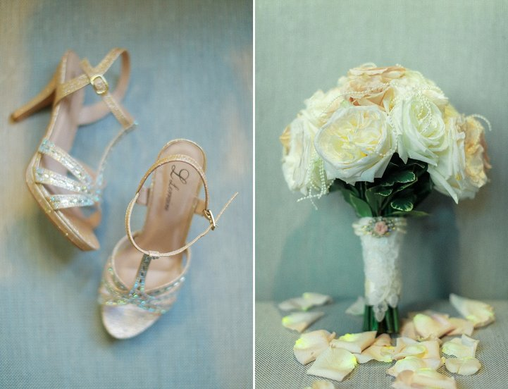 Bridal Bouquets with Pearls