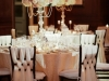 Elevated Blush and Cream Hydrangea Arrangements with Pearls