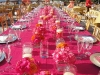 feasting-table-wtih-hot-pink-and-orange-at-cadzan