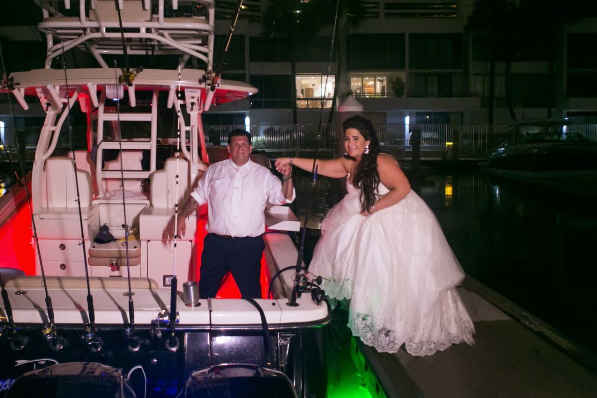 Couple Leaving on Boat