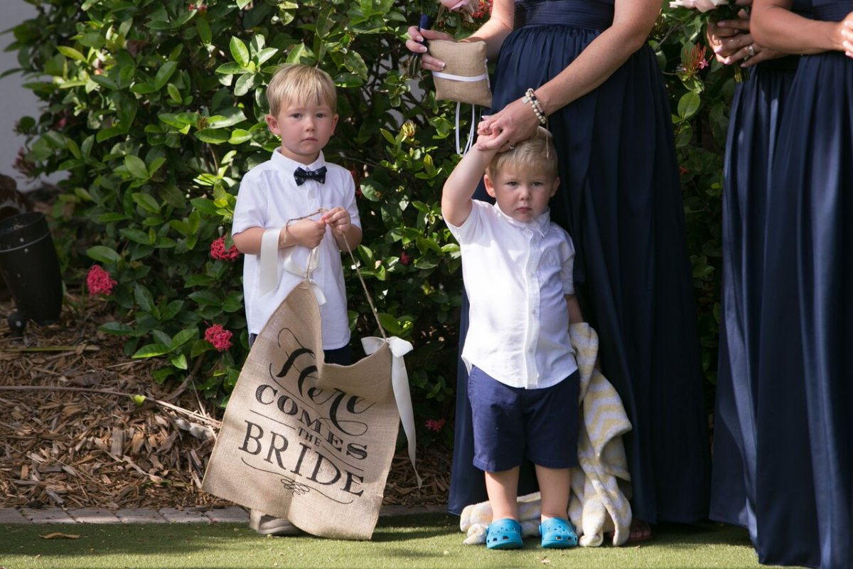 Here Comes the Bride Ringbearer
