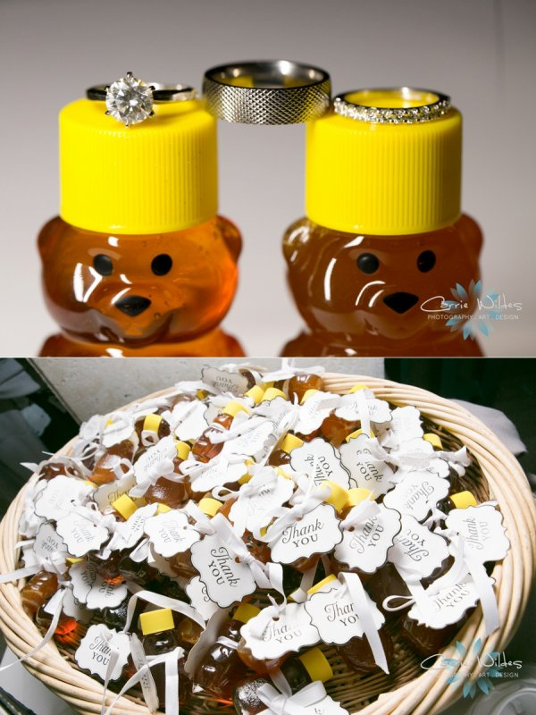 Honey as Wedding Guest Favors