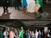 Guest Dressed as a Leprechaun at St. Patrick's Day Wedding