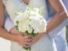 Bridal Bouquet with Dahlia, Mums, Play Blanca Roses