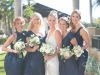 Close-Up of Bride and Bridesmaids Bouquets