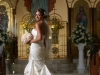 bride-with-bouquet-at-st-barbaras church sarasota