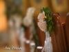 'sSahara Roses for pews at St Barbara