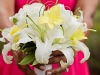Bridesmaids' Bouquets with Lilies and Orchids