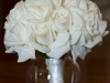 white-rose-bridal-bouquet-vased
