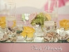 Beach theme feasting table with shells