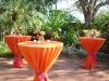 Hi top tables sarasota garden club