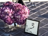 wedding-centerpiece-of-purple-hydrangea