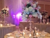 Gorgeous Garden Centerpieces on Lead Crystal Pedestals