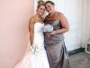 bride-bridesmaid bouquets