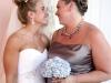 singel-blue-bridesmaids-bouqeut-of-blue-hydrangea