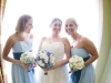bride-and-attendants-with-flower-bouquets