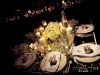 hydrangea-centerpiece-with-candles