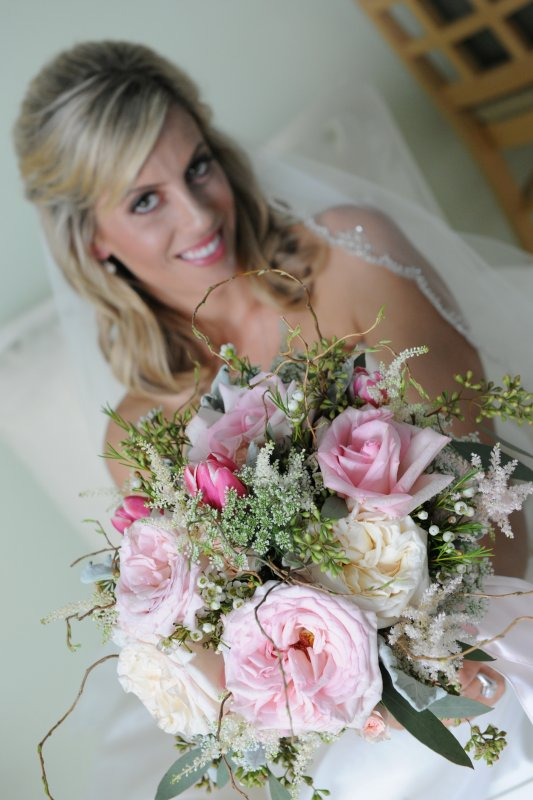 Blush Mixed Garden Bouquet