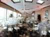 Sunset Terrace Lido Beach with Elevated Table Centerpieces