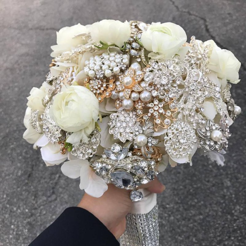 Jeweled Bouquet with Ranunculus