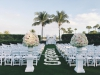 Wedding Ceremony on Lawn at Longboat Key Harborside