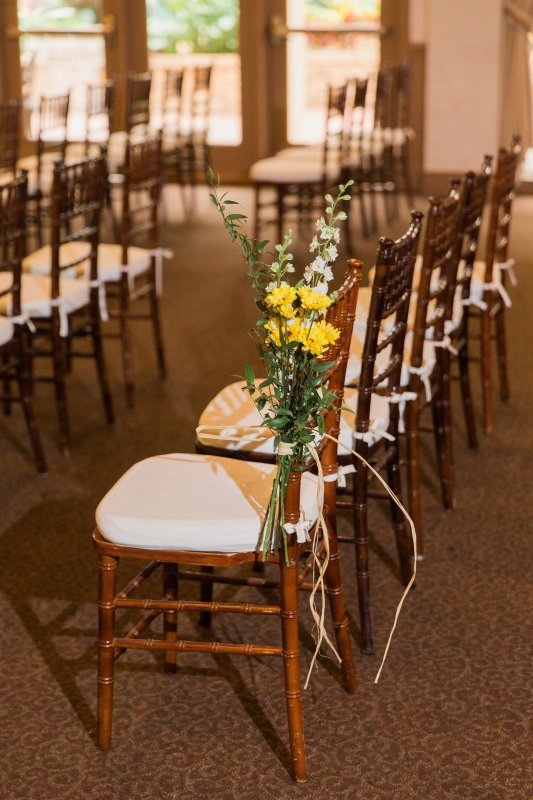 Aisle Flower Arrangement