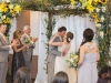 Bride and Groom Under Chuppah