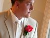 coral-rose- Boutonniere
