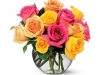 Rose Special with pink and yellow roses