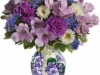 Sweet Violet Bouquet