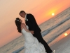 destination wedding couple Lido Beach