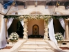 Ceremony Site in Loggia with Garland of Marco Polo Orchids
