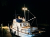 Bride and Groom Depart by Boat!