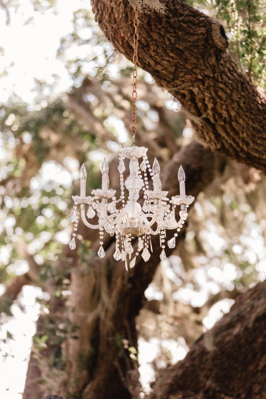 Chandelier by Affairs in the Air Palmetto Bed and Breakfast