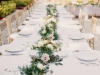 Garland Runners with Open Roses in Blush and Cream